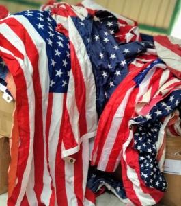 Usa Flags Lot