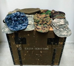 American Army Caps Lot