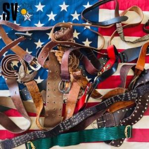 Mix vintage belts by Kilos