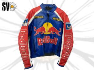 Genuine Red Bull leather jacket